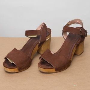Madewell Platform Shoes Size 9.5